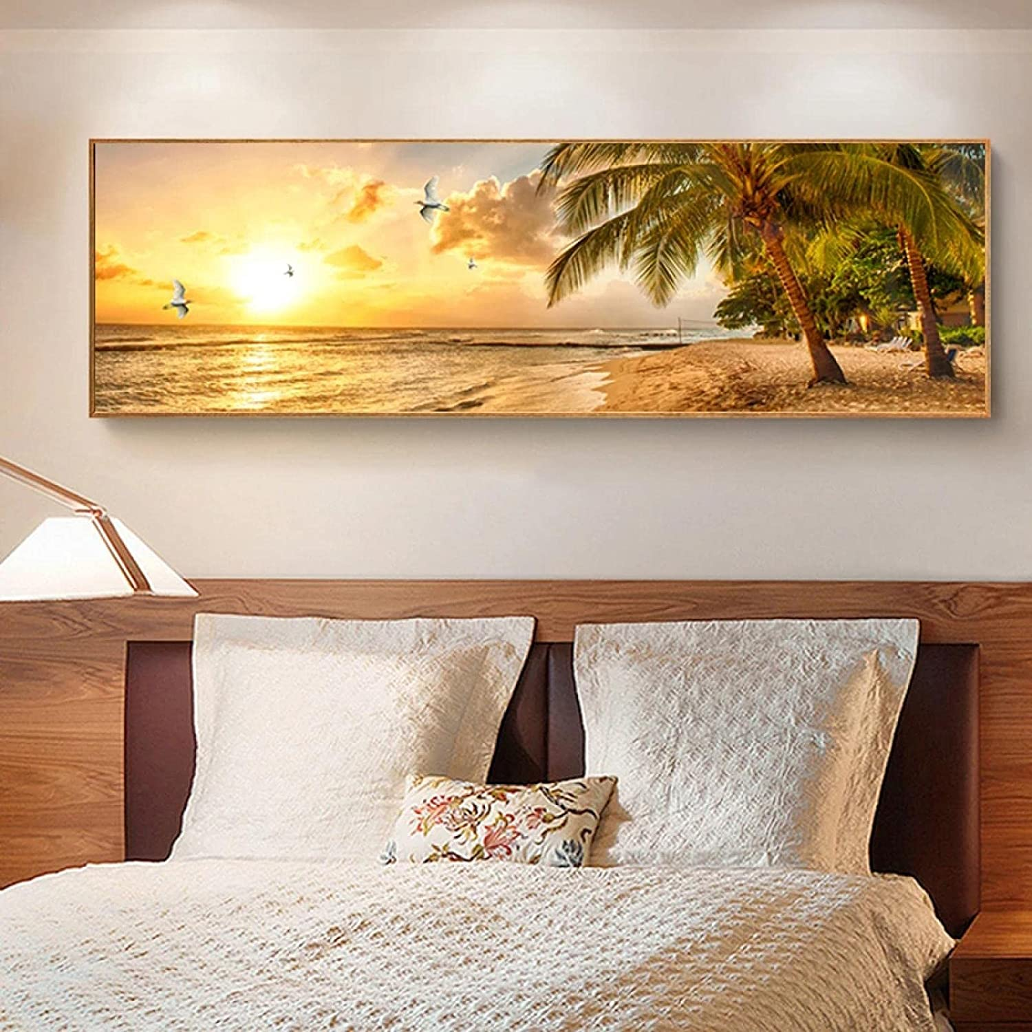 Sunsets Natural Max 44% OFF Sea Max 77% OFF Beach Landscape Prints Canvas Pa and Posters