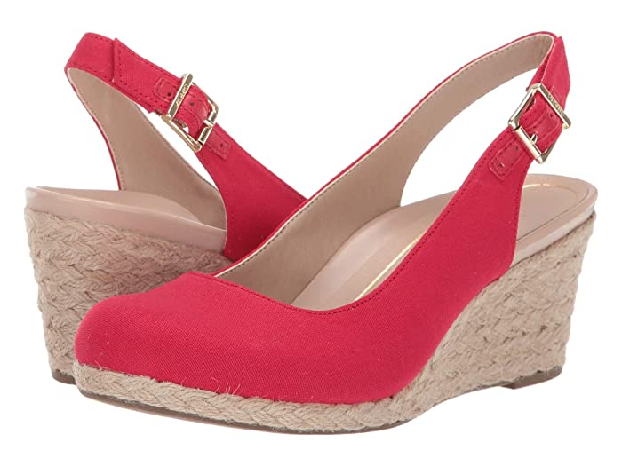 VIONIC  Coralina (Cherry) Womens Wedge Shoes