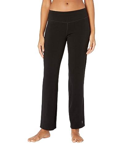 Smartwool Merino Sport Straight Leg Pants (Black) Women