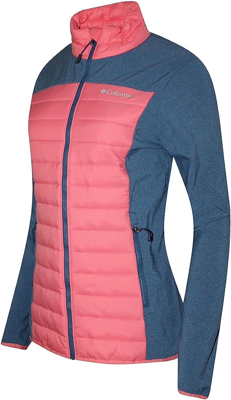 Columbia Women's Track Lines Hybrid Light Insulated Full Zip Jacket