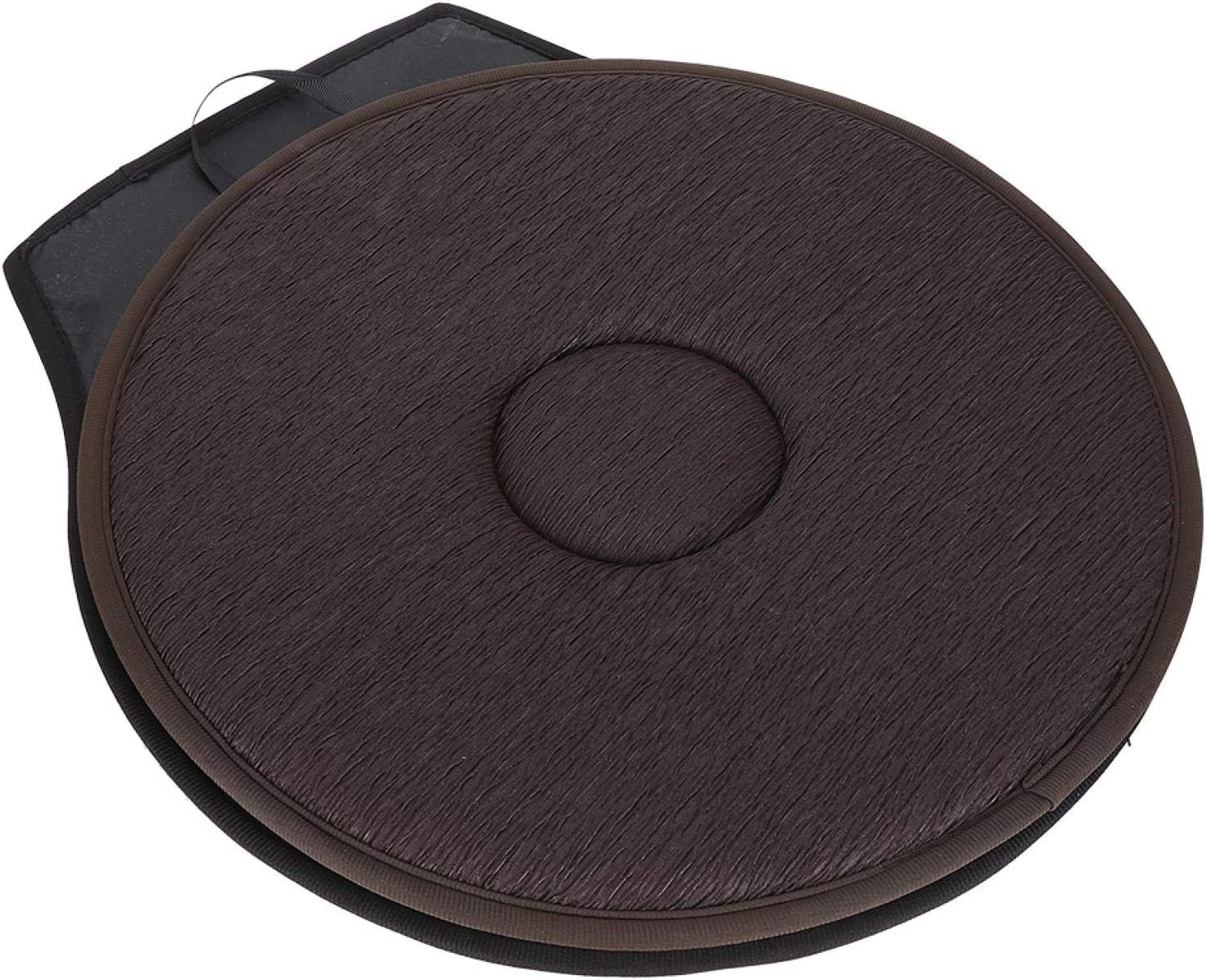Convenient Rotating Ranking TOP3 Car Mat Cushion Soft Add Houston Mall Comfortable for