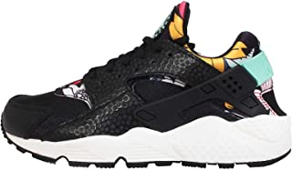 Air Huarache Run Print Aloha 725076-001 Black/Teal/Sail Floral Women's Shoes (Size 6)