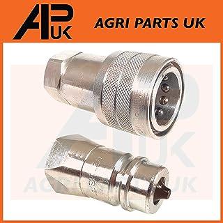 APUK 5//8 UNF Wheel Rim Bolt Nut Compatible with Case International 275 444 David Brown 880 ect Tractor