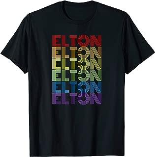 Retro Style Elton Rainbow T-Shirt