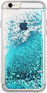 iPhone 7 case, iPhone 8 case Floating Quicksand Glitter Bling TPU case, Flowing Liquid Sparkle case for iPhone 7/8 4.7