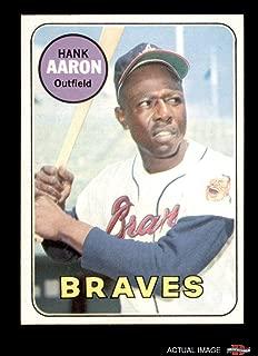 1969 hank aaron baseball card