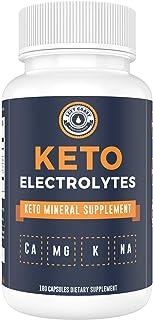 Keto Electrolyte Supplement (180 Capsules). Electrolyte Pills for Ketogenic Diet. Magnesium, Potassium, Sodium, Calcium | ...