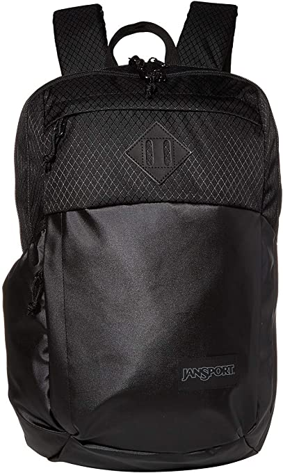 JanSport Casual Daypack, 48, Coated Black, 27 L Capacity