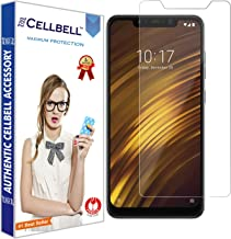 CELLBELL® Tempered Glass Screen Protector for Xiaomi Poco F1 with Installation Kit