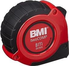 BMI 405351020 M/ètre /à ruban de poche Viso avec graduation en mm//pouce en blister Multicolore 3 m