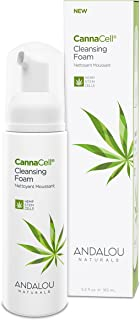 Andalou Naturals CannaCell Cleansing Foam, 5.5 Ounces
