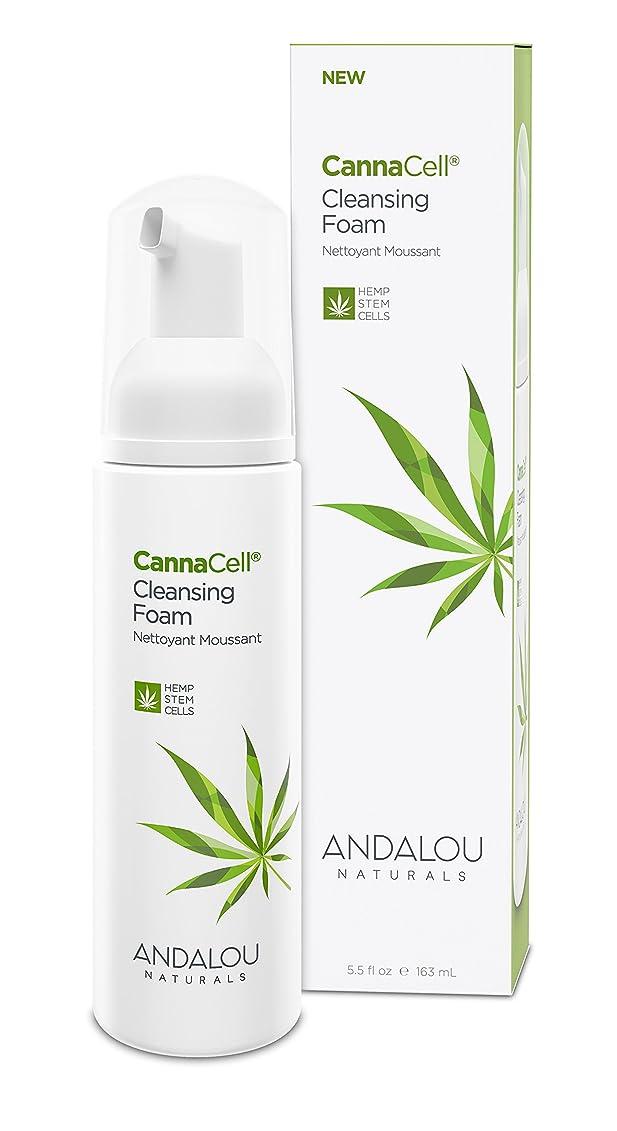 とげ精算登場オーガニック ボタニカル 洗顔料 洗顔フォーム ナチュラル フルーツ幹細胞 ヘンプ幹細胞 「 CannaCell? クレンジングフォーム 」 ANDALOU naturals アンダルー ナチュラルズ