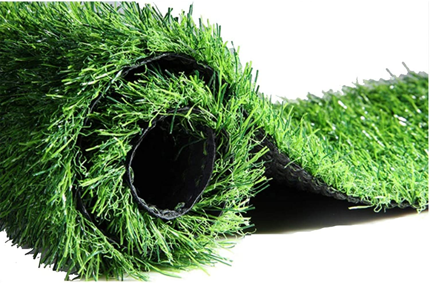 Artificial Turf 30mm Pile Height Artificial Grass, Realistic and Thick Fake Imitation Straw Mat, Outdoor Rug Balcony and Terrace (Size   1x13m)