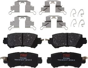 TRW TPC1624 Black Premium Ceramic Rear Disc Brake Pad Set