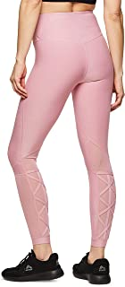 RBX Active Women's Workout Yoga 7/8 Ankle Legging with Side Detail