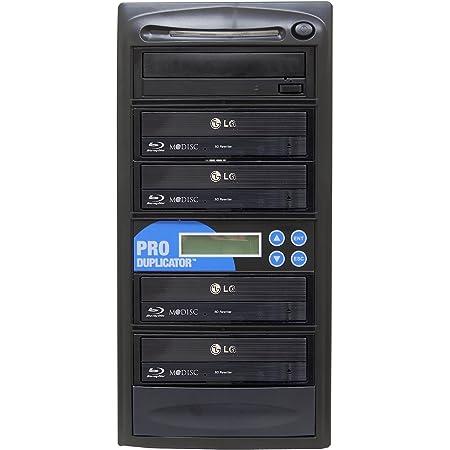 Produplicator 1 to 4 Blu-ray BD BDXL M-Disc CD DVD Duplicator - Standalone Copier Duplication Tower