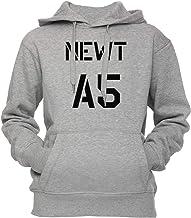 Erido Newt A5 Unisexe Homme Femme Sweat-Shirt Sweat /À Capuche Pull-Over Noir Toutes Les Tailles Mens Womens Hoodie Black