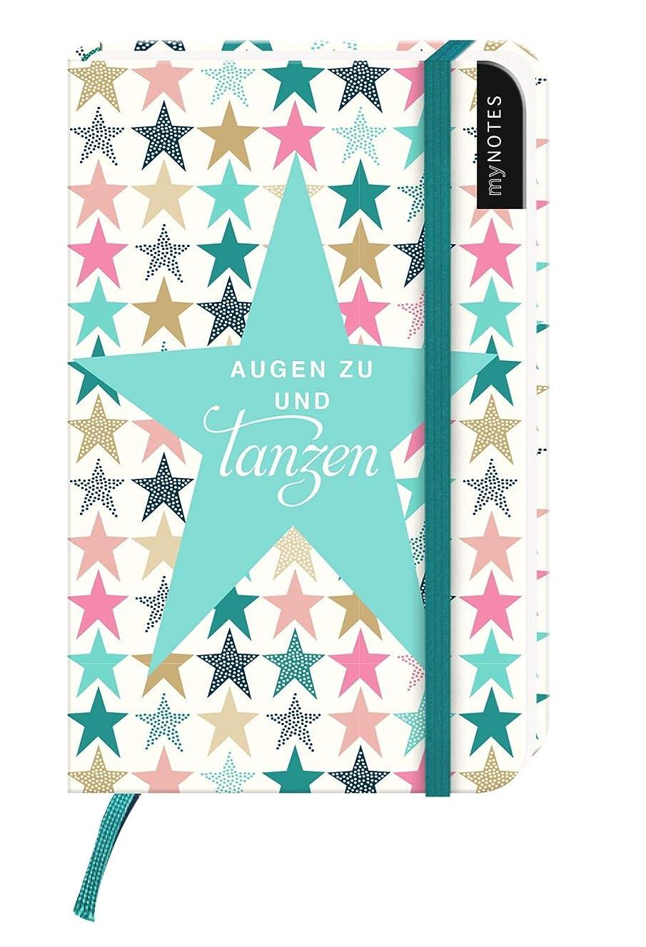 阻害する同封する政策myNOTES: Augen zu und tanzen / Notizbuch klein / Blanko