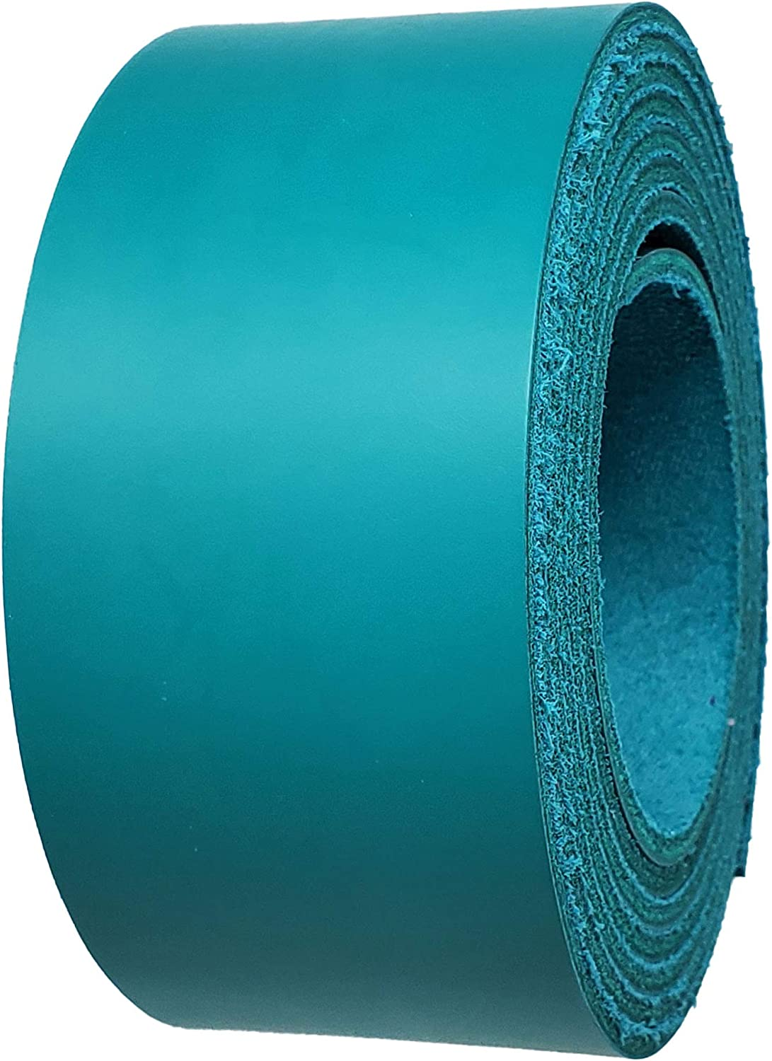 Jade Leather Strips Popular brand in the world 2 inch Credence Wide up 6-7 Long oz. Extra to 96 Inch