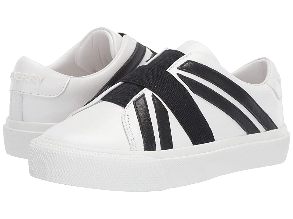 Burberry Kids Mini Cedbury Sneaker (Toddler/Little Kid) (Optic White/Black) Kid