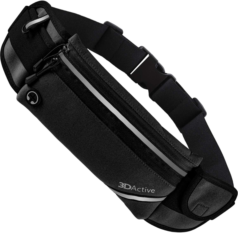 3DActive Running Belt PLUS Waist Water Spring new work Resistant Runners B Pack Department store
