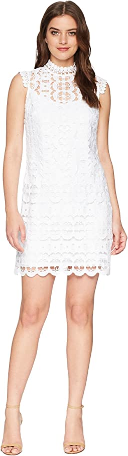 Laundry by Shelli Segal - Mock Neck Venise Shift Dress