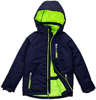 green snow jacket
