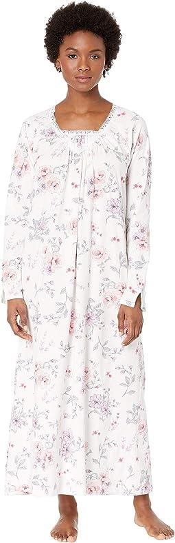 7ef95b54da Multi Rose Floral. 0. Carole Hochman. Soft Jersey Long Gown