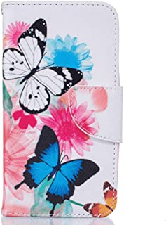 TemplarMoon Flip Case Fit for Samsung Galaxy S20 Ultra, Extra-Shockproof Card Holders Kickstand butterfly2 Leather Cover W...