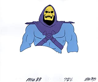 He-Man and the MOTU Skeletor Production Animation Art Cel Setup and Drawing Filmation 8