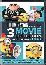 Illumination Presents: 3-Movie Collection (Despicable Me / Despicable Me 2 / Despicable Me 3) [DVD]