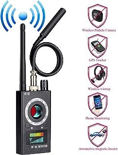 Anti Spy Hidden Camera Detector, Wireless RF Bug Hidden Camera Lens Detector Radio Wave Signal Detect Full-Range GSM Device Finder for Anti Eavesdropping Candid GPS Tracker