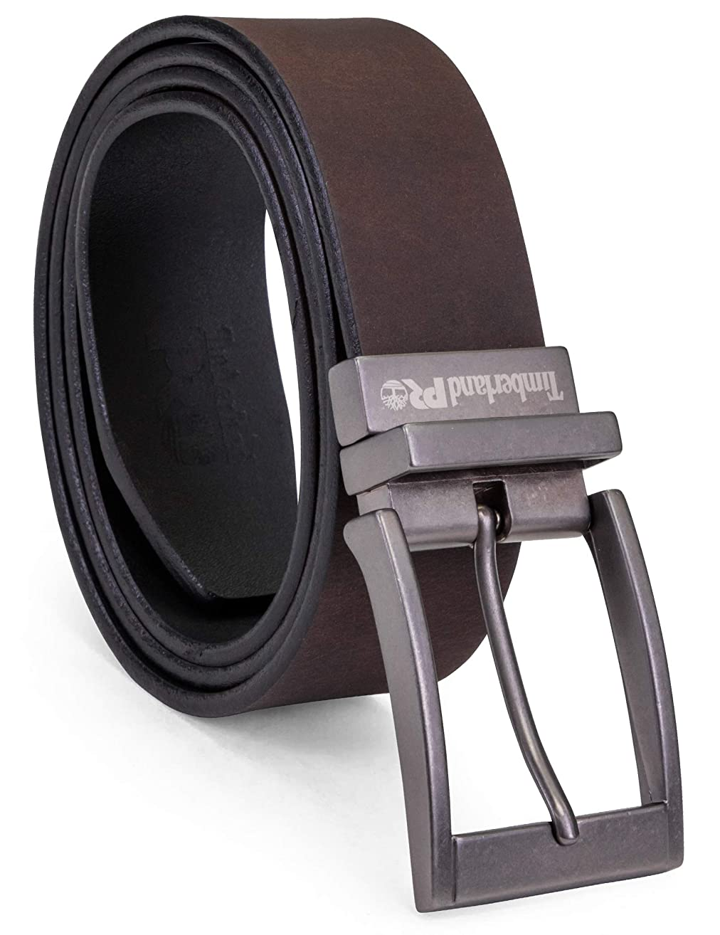 Timberland PRO Men's 38mm Harness Roller Reversible Leather Belt