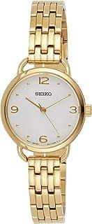 SEIKO Women's Quartz Watch, Analog Display and Stainless Steel Strap SUR670P1