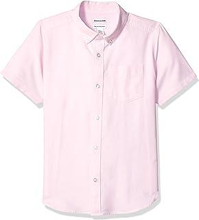 Amazon Essentials Boys' Short-Sleeve Uniform Oxford Niños