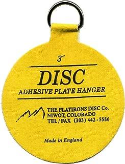 Flatirons Disc Adhesive Medium Plate Hanger Set (4-3 Inch Hangers)