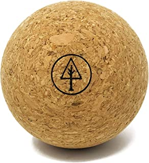 RAWLOGY Ultra-Firm Cork Massage Ball (Classic 2.5