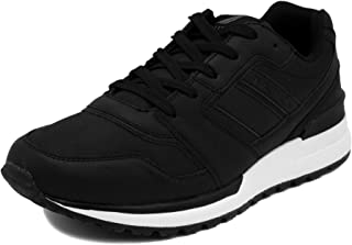 Men's Casual Lace-Up Fashion Sneakers Oxford Comfortable Walking Shoe