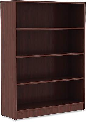 Axess 4-Shelf Bookcase-Blueberry-South Shore