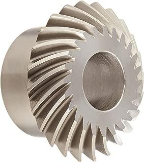 Boston Gear LSA107YL Spiral Miter Gear, 35 Degree Spiral Angle, 1:1 Ratio, 1.500