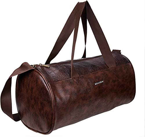 Royal PU 21 Litre Stylish Brown Gym Bag