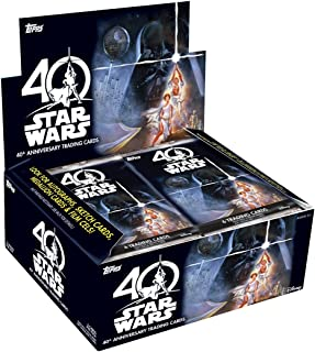 Topps 2017 Star Wars 40th Anniversary Retail Box Trading Cards