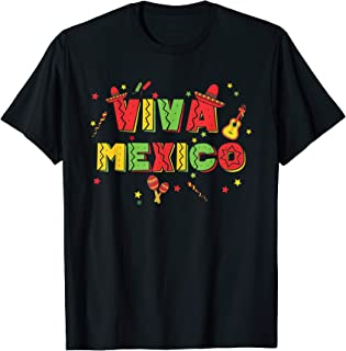 Viva Mexico Independence Day Fiesta T-Shirt