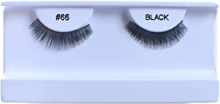 10 Pairs 100% Human Hair False Eyelashes Natural Black #66