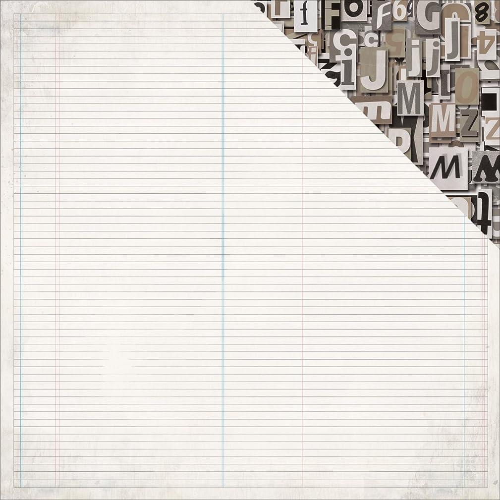 Kaisercraft Notebook Ledger Documented Double-Sided Cardstock 12