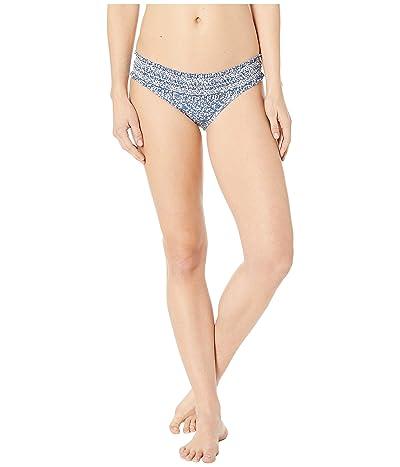 Tory Burch Swimwear Costa Hipster Bottom (Blue Keepsake) Women