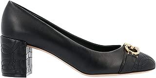 SALVATORE FERRAGAMO Luxury Fashion Womens 714662 Black Pumps   Fall Winter 19