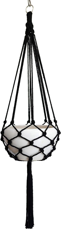 Macrame Plant Hanger Hanging Planter Branded goods Net or Columbus Mall Basket Hemp