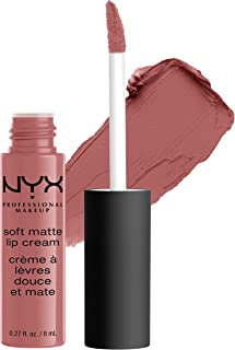 NYX PROFESSIONAL MAKEUP Soft Matte Lip Cream, High-Pigmented Cream Lipstick - Toulouse, Muted Mauve