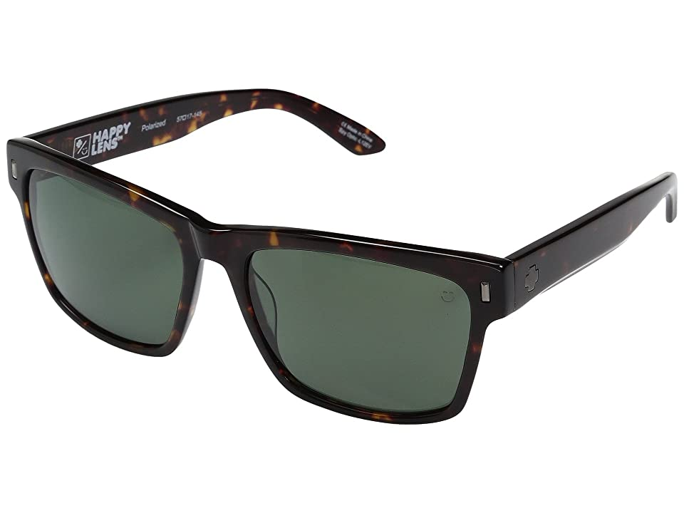 Spy Optic Haight (Dark Tort/Happy Gray Green Polar) Fashion Sunglasses